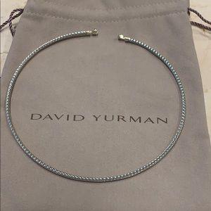 EUC, David Yurman thoroughbred choker
